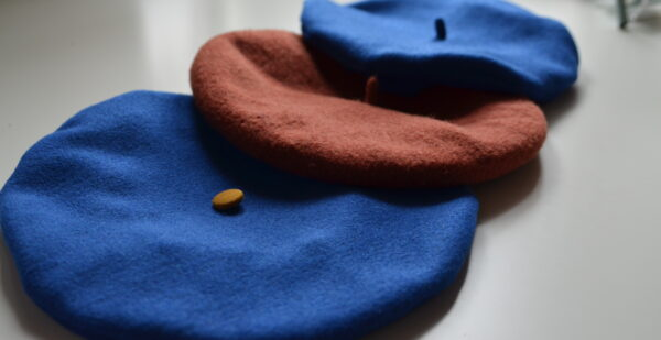 How to sew a beret